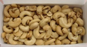 fresh roasted cashew nuts