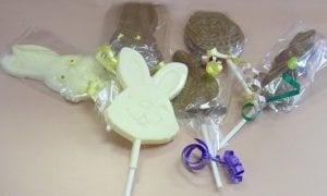 Premium Chocolate Easter Lollipops