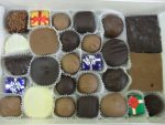 Ghelfi's milk and dark assorted chocolates