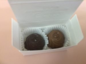 Chocolate Wedding Favors in a gift Box